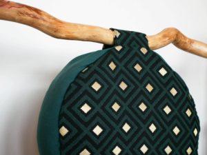 Zafu de méditation Les Barbaries - cousu en conscience